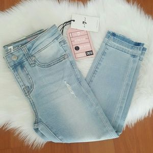 7 for all Mankind girls skinny ankle jeans NEW 6